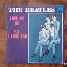 Discos de vinilo: BEATLES - LOVE ME DO. Lote 145396618