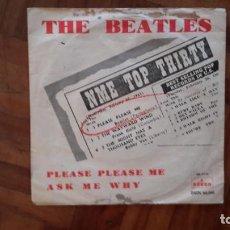 Discos de vinilo: BEATLES - PLEASE PLEASE ME - LABEL VERDE. Lote 145397486