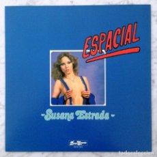 Discos de vinilo: MAXI-SINGLE - SUSANA ESTRADA - ESPACIAL - DISCO SEGRETA (EDICION LIMITADA NUMERADA VINILO ROJO). Lote 145401602