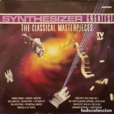 Discos de vinilo: STARINK– SYNTHESIZER GREATEST - THE CLASSICAL MASTERPIECES - DOBLE LP SPAIN 1990. Lote 145403494