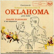 Discos de vinilo: RALPH FLANAGAN Y SU ORQUESTA – OKLAHOMA - EP SPAIN - RCA VICTOR 3-20085. Lote 145418366