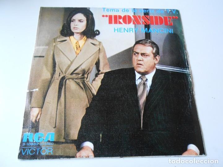 Discos de vinilo: HENRY MANCINI, SG, SAM CADE + IRONSIDE, AÑO 1973 - Foto 2 - 145419078