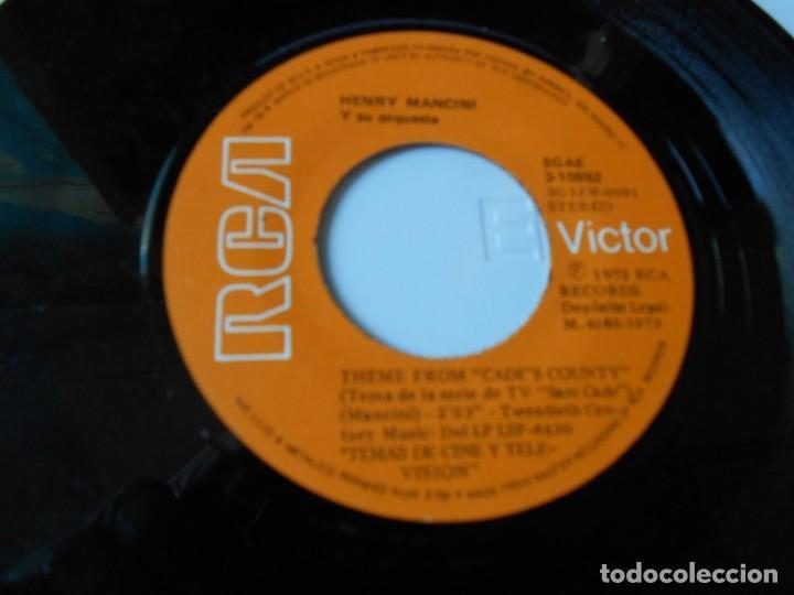 Discos de vinilo: HENRY MANCINI, SG, SAM CADE + IRONSIDE, AÑO 1973 - Foto 3 - 145419078