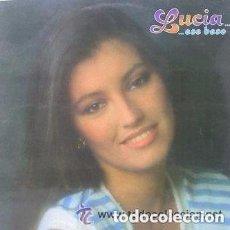 Discos de vinilo: LUCIA - ESE BESO - LP FONOMUSIC 1985 SPAIN. Lote 145420642