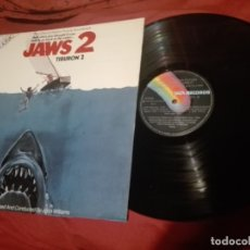 Discos de vinilo: JAWS 2-TIBURON 2- LP BANDA SONORA ORIGINAL MUSICA JOHN WILLIAMS MCA SPA 1978. Lote 145420662