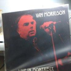 Discos de vinilo: DOBLE LP VAN MORRISON : LIVE IN MONTREUX. Lote 145421734
