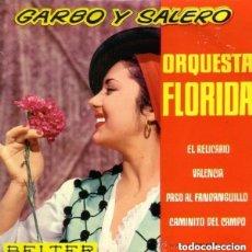 Discos de vinilo: ORQUESTA FLORIDA, GARBO Y SALERO, EP BELTER 1964. Lote 145422246