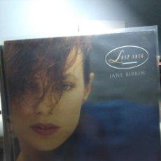 Discos de vinilo: LP JANE BIRKIN : LOST SONG ( COLABORA SERGE GAINSBOURG ). Lote 145423682