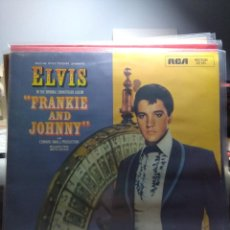 Discos de vinilo: LP ELVIS PRESLEY : FRANKIE AND JOHNNY . Lote 145425242