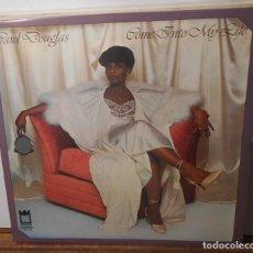 Discos de vinilo: CAROL DOUGLAS COME INTO MY LIFE LP MIDSONG 1979 VINILO SIN USAR. Lote 145425974