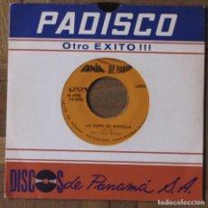 Discos de vinilo: FANIA DE PANAMÁ. VAYA RECORDS, VS-5095. PANAMÁ, 1975. FUNDA EX. DISCO EX.. Lote 145434130