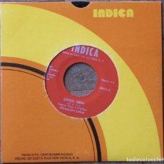Discos de vinilo: DIMENSIÓN LATINA. DIVINA NIÑA; JUANCITO TRUCUPEY. INDICA, 5102. C. RICA, 1976. FUNDA EX. DISCO EX.. Lote 145435806