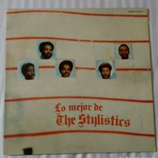 Discos de vinilo: DISCO VINILO LP LO MEJOR DE THE STYLISTICS. Lote 145437490