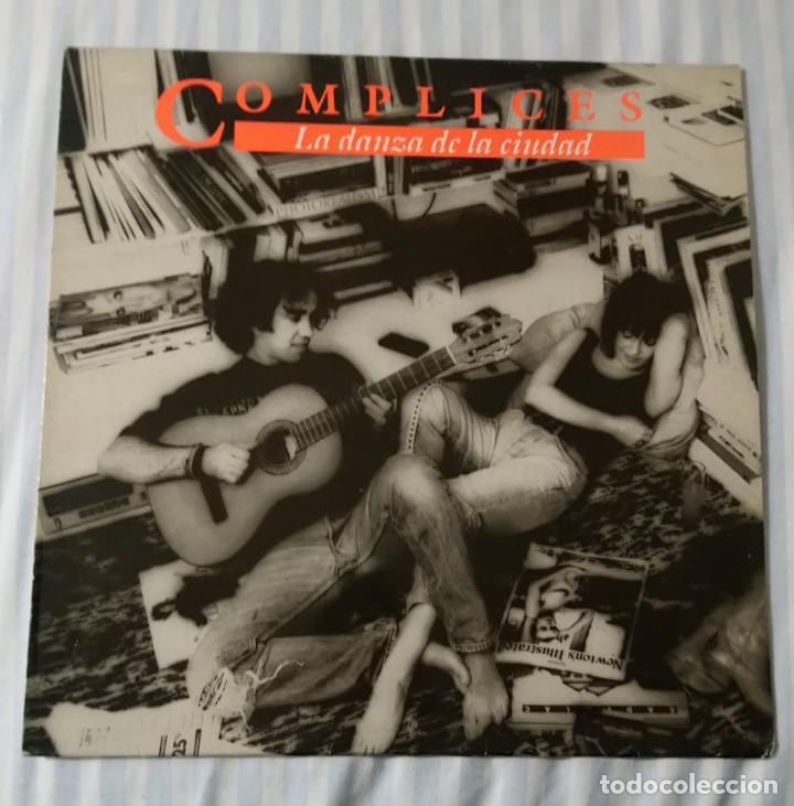 DISCO VINILO LP LA DANZA DE LA CIUDAD - CÓMPLICES - (Música - Discos - LP Vinilo - Grupos Españoles de los 90 a la actualidad)