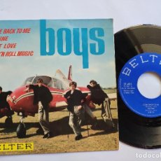 Discos de vinilo: THE BOYS - EP SPAIN PS - COME BACK TO ME / SO FINE / LOST LOVE / ROCK' N ROLL MUSIC. Lote 145450062