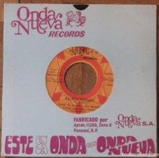 Discos de vinilo: CORTIJO Y SU NUEVO COMBO. EL BOCHINCHE; PICA PICA. ONDA NUEVA RECORDS, 1679. PANAMÁ, 1975.. Lote 145476774