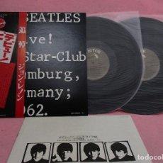 Discos de vinilo: VINILO EDICIÓN JAPONESA DEL DOBLE LP DE THE BEATLES - LIVE AT THE STAR CLUB , HAMBURG , GERMANY 1962. Lote 145481234