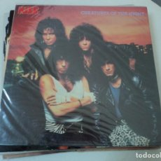 Discos de vinilo: KISS: CREATURES OF THE NIGHT- GERMANY 1985- DIFF. COVER- IMPOSIBLE- MINT. Lote 145505182