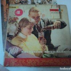 Discos de vinilo: COCA COLA: ANTIGUO DISCO L.P DE URUGUAY-REFRESCOS MUSICALES-DISCO PROMOCIONAL-COLECCIONISTAS. Lote 145507310