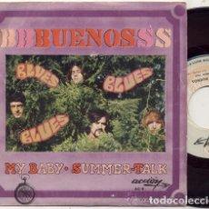 Discos de vinilo: BUENOS / MY BABY / SINGLE 45 RPM / EDITADO POR ACCION. Lote 145517934