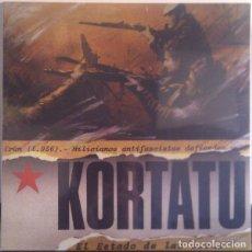 Discos de vinilo: LP KORTATU – EL ESTADO DE LAS COSAS. Lote 145538854