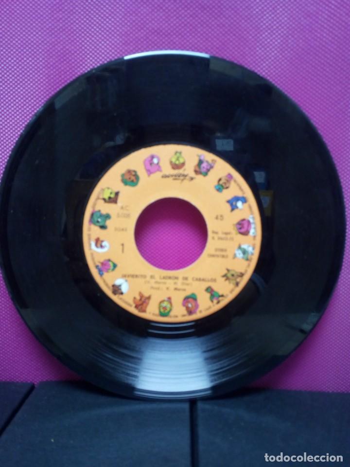 Discos de vinilo: CUENTOS INFANTILES FESTIVAL JAVIERITO Y EL LADRON DE CABALLOS Y ANTONIO ANTONIO AÑOS 70 - Foto 3 - 145556530