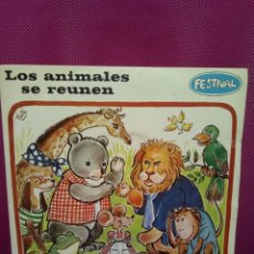 Discos de vinilo - CUENTOS INFANTILES FESTIVAL LOS ANIMALES SE REÚNEN Y BARTOLO AÑOS 70 - 145556550