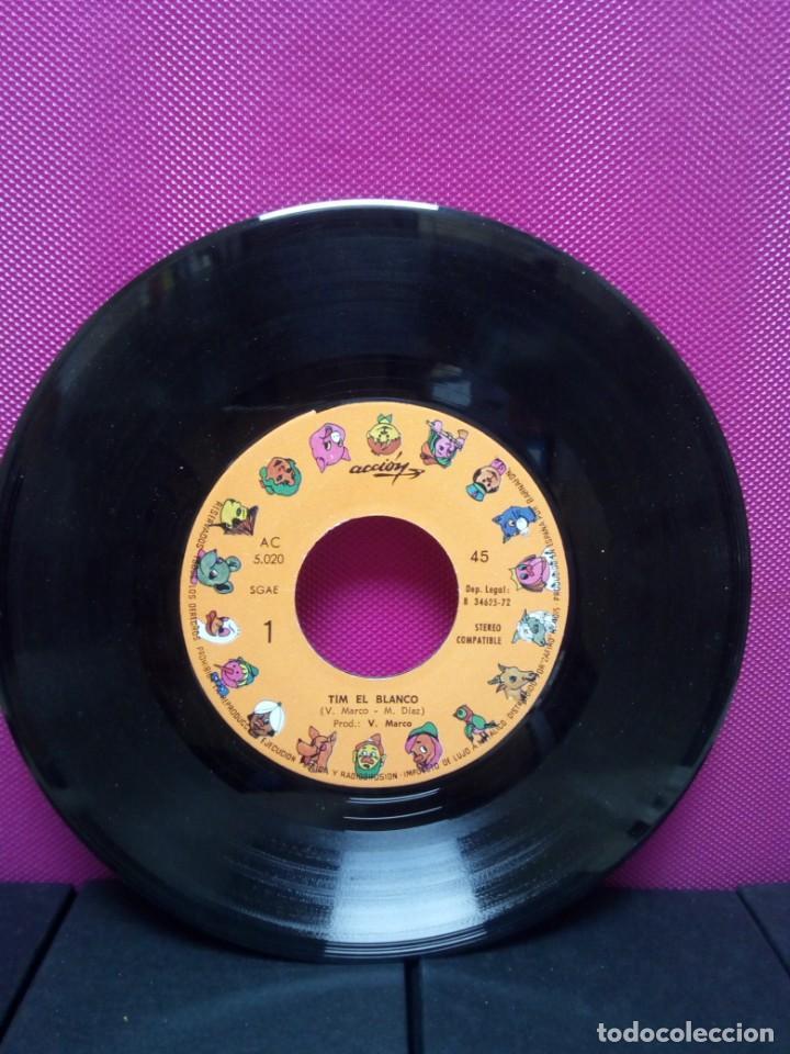 Discos de vinilo: CUENTOS INFANTILES FESTIVAL TIM EL BLANCO Y LAS RABIETAS DE ISOLINA AÑOS 70 - Foto 3 - 145556566