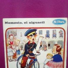 Discos de vinilo - CUENTOS INFANTILES FESTIVAL MENESIO EL ALGUACIL Y EL RETRATO DEL MERCADER AÑOS 70 - 145556626
