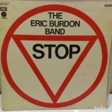 Discos de vinilo: LP DE VINILO THE ERIC BURDON BAND - STOP. Lote 145569974