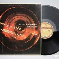 Discos de vinilo: DISCO DE VINILO - CLIFFORD BROWN / ALL STARS - EMARCY RECORDS - AÑO 1957 - MADE IN JAPAN. Lote 145571794
