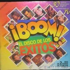 Discos de vinilo: ¡BOOM! (EL DISCO DE LOS EXITOS) DOBLE LP, COMPILATION 1985 . Lote 147787158