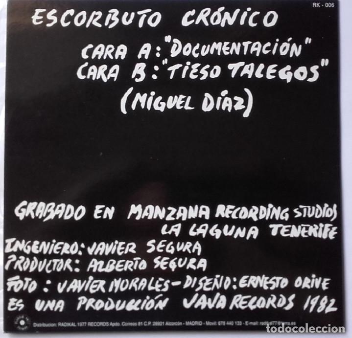 Discos de vinilo: Escorbuto Crónico: Documentación (reedición) - Foto 2 - 145584326