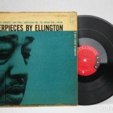 Discos de vinilo: DISCO DE VINILO - DUKE ELLINGTON AND HIS ORCHESTRA / MASTERPIECES BY ELLINGTON - COLUMBIA - USA. Lote 145584606