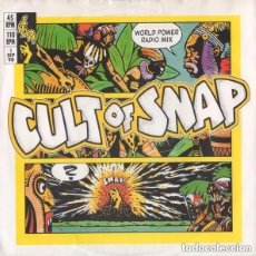 Discos de vinilo: SNAP! – MARY HAD A LITTLE BOY - SINGLE SPAIN 1990. Lote 145592042