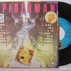 Discos de vinilo: SHANE GOULD - SPIDERMAN / CLOUDS - SINGLE 1979 - CARNABY. Lote 145592402