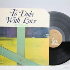Discos de vinilo: DISCO DE VINILO - ART FARMER / TO DUCK WITH LOVE - INNER CITY - AÑO 1979 - JAPAN, TOKYO. Lote 145595122