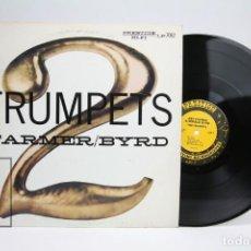 Discos de vinilo: DISCO DE VINILO - 2 TRUMPETS / ART FARMER, DONALD BYRD - PRESTIGE - USA. Lote 145597254