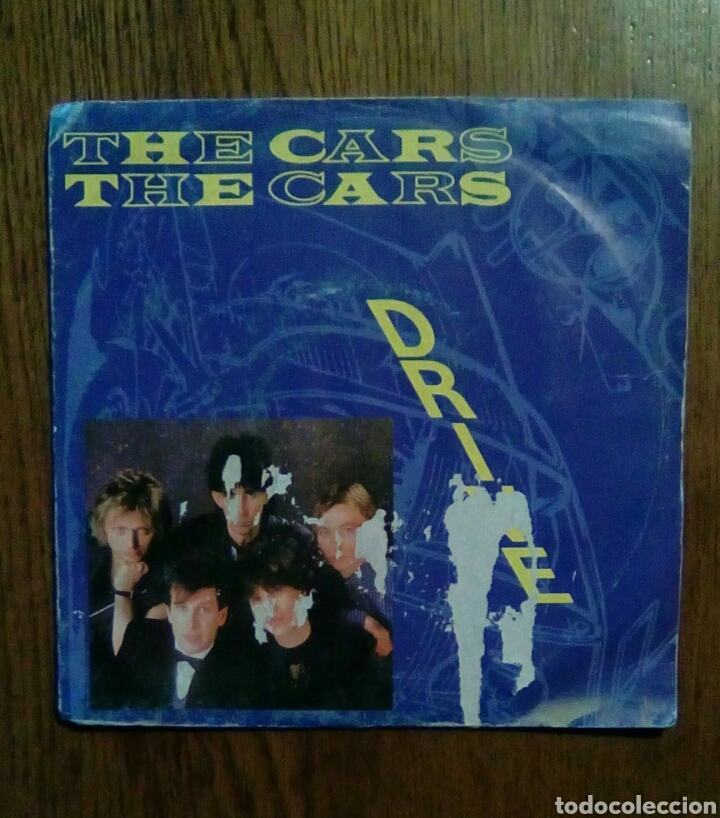 THE CARS - DRIVE / STRANGER EYES, WEA, 1984. FRANCE. (Música - Discos de Vinilo - Singles - Pop - Rock Extranjero de los 80)