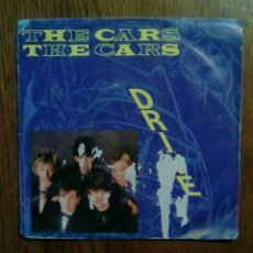 Discos de vinilo: THE CARS - DRIVE / STRANGER EYES, WEA, 1984. FRANCE.. Lote 145597500