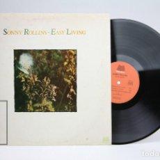 Discos de vinilo: DISCO DE VINILO - SONNY ROLLINS / EASY LIVING - MILESTONE - AÑO 1978 - MADE IN FRANCE. Lote 145597714