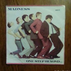 Discos de vinilo: MADNESS - ONE STEP BEYOND/ MISTAKES, STIFF RECORDS, 1979. FRANCE.. Lote 145598232
