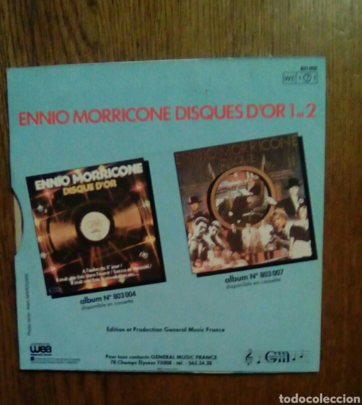 Discos de vinilo: Ennio Morricone - Chi mai / Viva la revolución, General Music, 1978. France - Foto 2 - 145605156