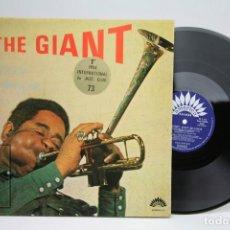 Discos de vinilo: DISCO DE VINILO - THE GIANT / DIZZY GILLESPIE - AMERICA RECORDS - MADE IN FRANCE. Lote 145608450