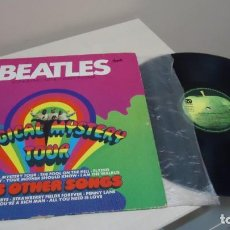 Discos de vinilo: BEATLES - MAGICAL MYSTERY TOUR-PLUS OTHER SONGS - HORZU LANGSPIELPLATTE- APPLE -MADE IN GERMANY- . Lote 145609698