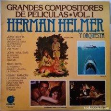 Dischi in vinile: HERMAN HELMER Y ORQUESTA-GRANDES COMPOSITORES DE PELÍCULAS · VOL. I. Lote 145611174