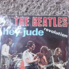 Discos de vinilo: THE BEATLES-HEY JUDE-REVOLUTION. Lote 145611570