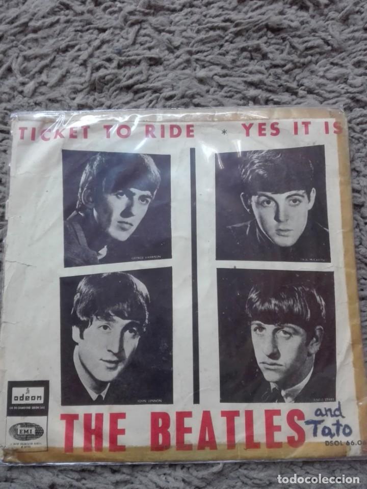 THE BEATLES TICKET TO RIDE (Música - Discos - Singles Vinilo - Otros estilos)