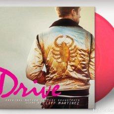 Disques de vinyle: CLIFF MARTINEZ - DRIVE BANDA SONORA ORIGINAL EDICIÓN LIMITADA VINILO COLOR ROSA NEÓN PRECINTADO. Lote 145628470
