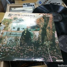 Discos de vinilo: BLACK SABBATH DOBLE LP DISCO PRIMERO / PARANOID ESPAÑA 1976 EN PERFECTO ESTADO. Lote 145630000